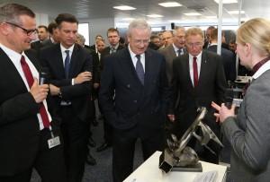 Winterkorn besuchte heute das VW-Werk Braunschweig. © spothits/Auto-Medienportal.Net/Volkswagen