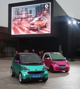 Shanghai 2015: In China rollen schon 70 000 Smart. © spozhits/Auto-Medienportal.Net