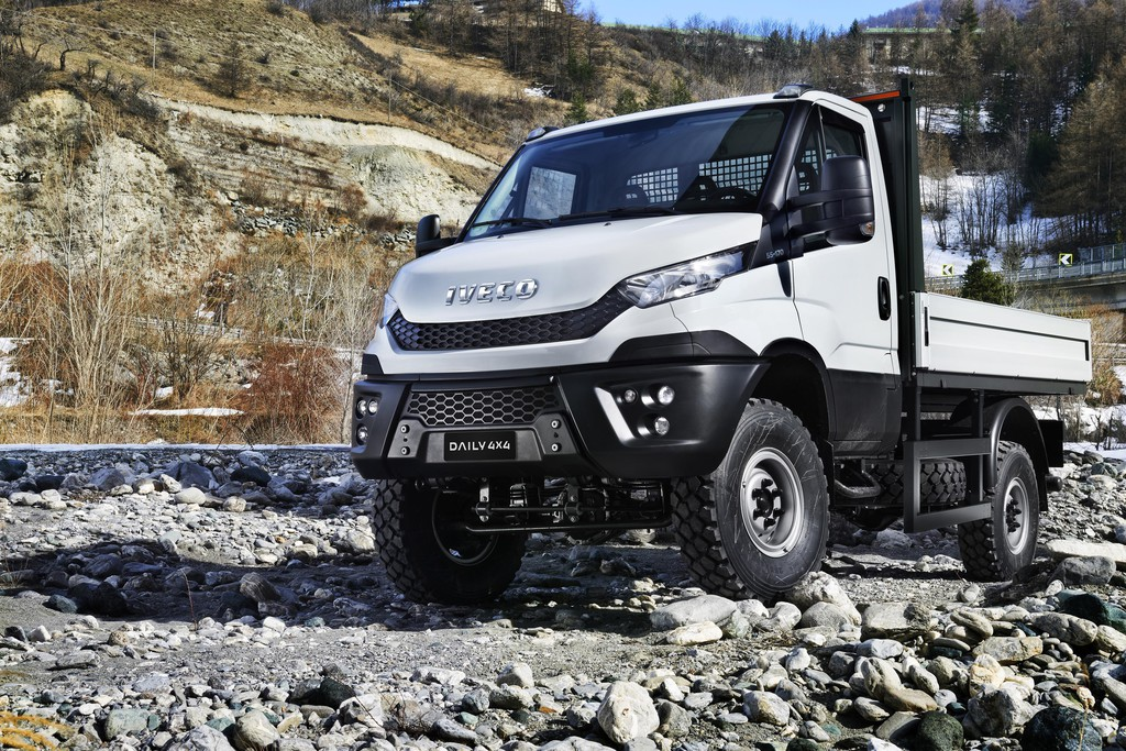 Iveco Daily jetzt auch als 4x4. © spothits/Auto-Medienportal.Net/Iveco