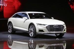 Shanghai 2015: Die Zukunft des Audi Allroad. © spothits/Auto-Medienportal.Net/Manfred Zimmermann