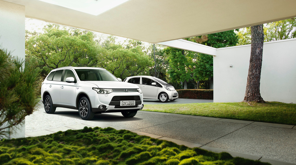 Mitsubishi elektrisiert. © spothits/Auto-Medienportal.Net/Mitsubishi