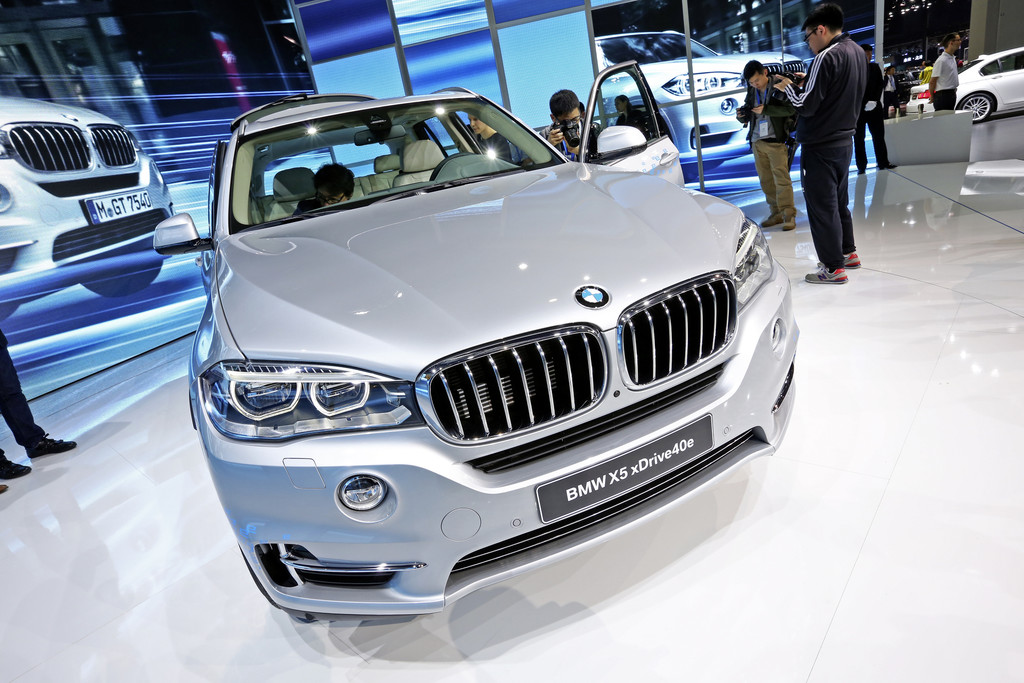 Shanghai 2015: BMWs erster Plug-in ist der X5. © spothits/Auto-Medienportal.Net/Manfred Zimmermann