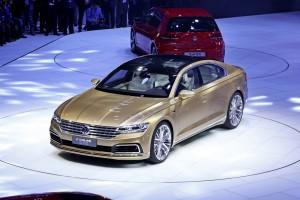 Shanghai 2015: Volkswagen schiebt das C Coupé GTE ins Rampenlicht. © spothits/Auto-Medienportal.Net/Manfred Zimmermann