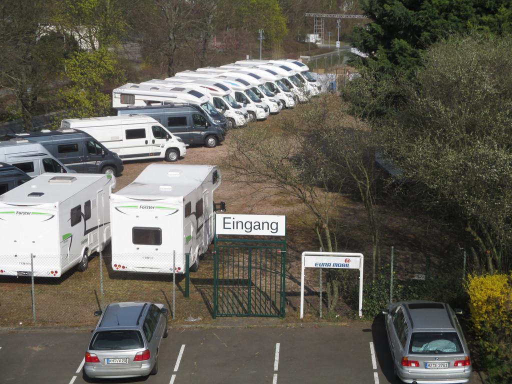 Eura Mobil weicht ins Freie aus. © spothits/Auto-Medienportal.Net/Eura Mobil
