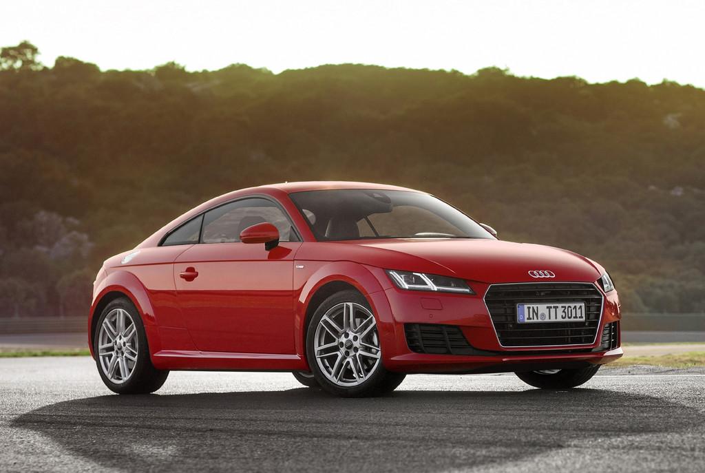 Neuer Einstiegsmotor im Audi TT. © spothits/Auto-Medienportal.Net/Audi