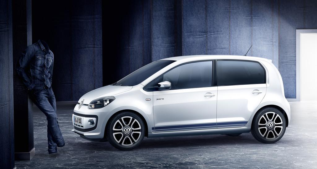 Volkswagen Jeans-Up spart bis zu 792 Euro. © spothits/Auto-Medienportal.Net/Volkswagen