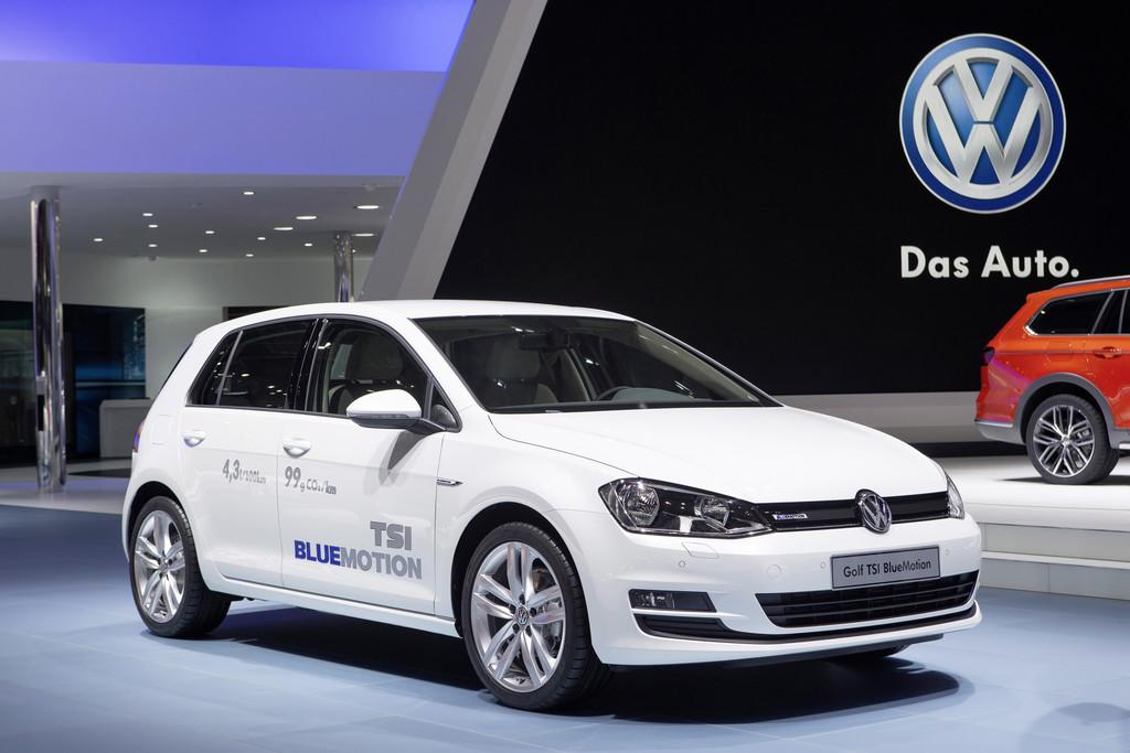 VW Golf auch als TSI Blue Motion. © spothits/Auto-Medienportal.Net/Volkswagen