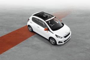 Neues Topmodell: Peugeot 108 Roland Garros. © spothits/Auto-Medienportal.Net/Peugeot