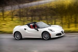 Alfa Romeo 4C jetzt auch als Spider. © spothits/Auto-Medienportal.Net/Alfa Romeo