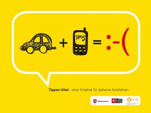 "Initiative ""Tippen tötet"" ausgezeichnet. © spothits/Auto-Medienportal.Net/WEG"