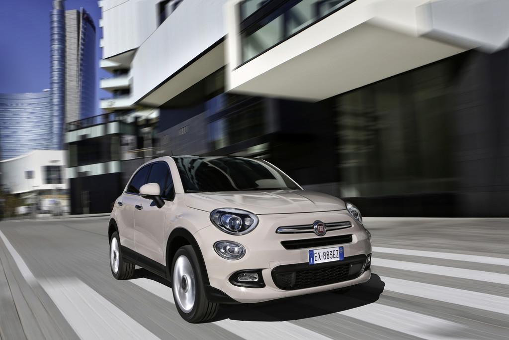 Mehr PS und Doppelkupplungsgetriebe für Fiat 500X. © spothits/Auto-Medienportal.Net/Fiat