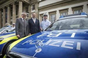 Landespolizei bekommt 645 neue Mercedes-Benz. © spothits/Auto-Medienportal.Net/Daimler