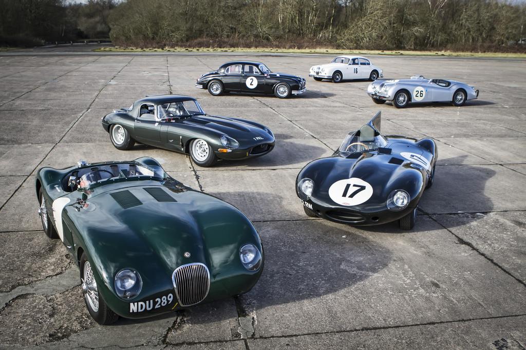 Rennserie mit historischen Jaguar startet. © spothits/Auto-Medienportal.Net/Jaguar