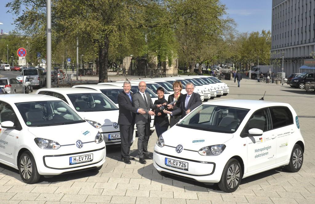 Kommunen erhalten 25 VW E-Load-Up. © spothits/Auto-Medienportal.Net/Volkswagen
