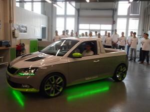 Skodas Azubi-Car: Serienproduktion wäre ein Traum. © spothits/Auto-Medienportal.Net