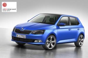 """Škoda Fabia mit """"Red Dot Award"""" ausgezeichnet. © spothits/Škoda"""