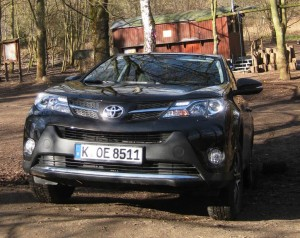 Test Toyota RAV4: Little Brother. © spothits/Heiner Klempp