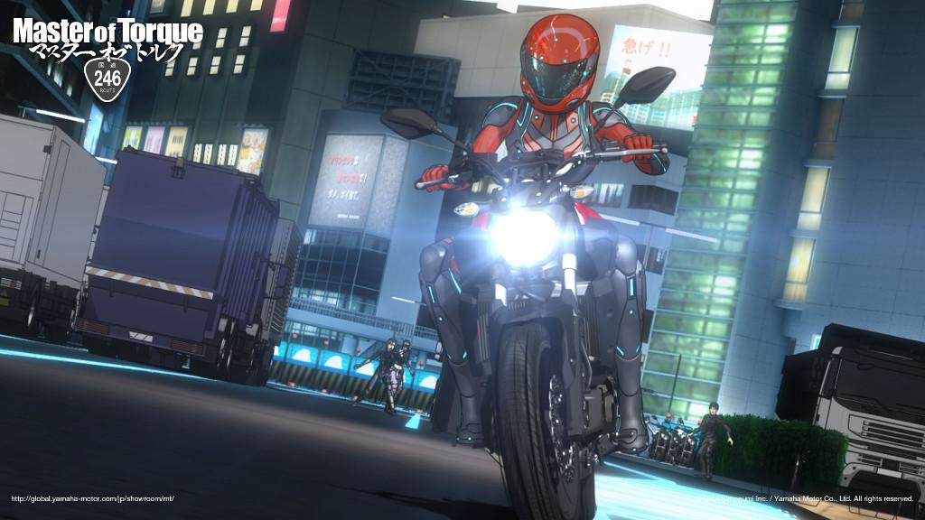 "Yamaha startet mit ""Master of Torque"" Motorrad-Animationsvideos. © spothits/Yamaha"