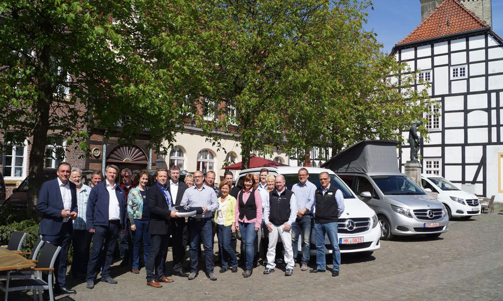 InterCaravaning nimmt Marco Polo Modelle in Mietpark auf. © spothits/InterCaravaning