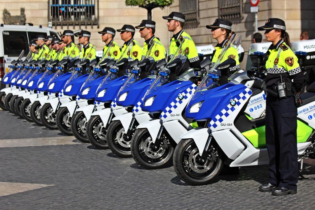 BMW C evolution für Polizei von Sardinien. © spothits/BMW