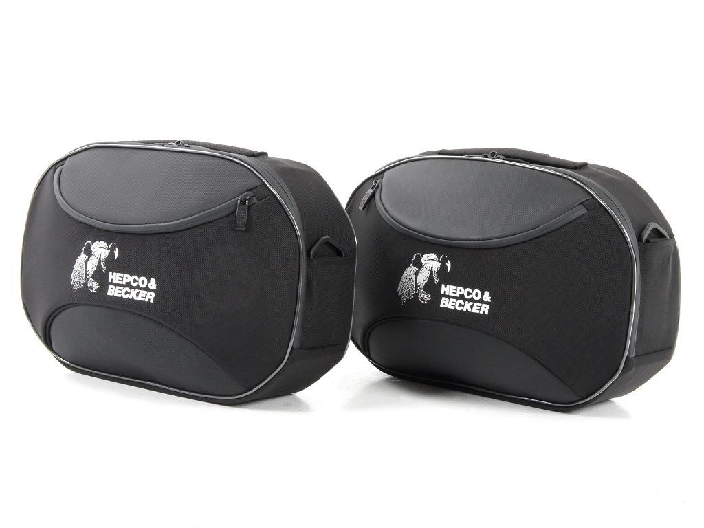 Hepco & Becker mit neuer Street C-Bow Seitentasche. © spothits/Hepco & Becker