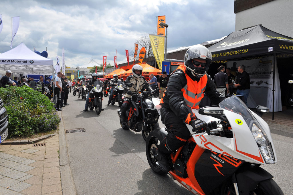 Touratech Travel Event: Motorradausstatter feiert Jubiläum. © spothits/Touratech