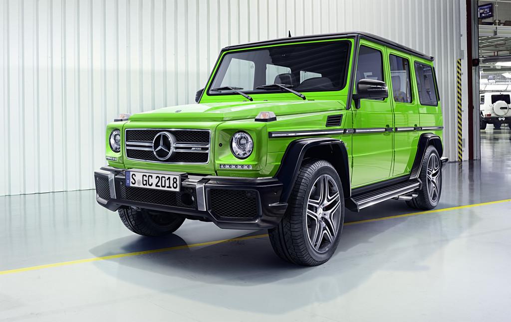 Mehr Power und Pepp für die G-Klasse. © spothits/Auto-Medienportal.Net/Daimler