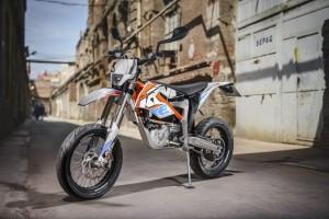 KTM Freeride E jetzt auch für die Straße. © spothits/Auto-Medienportal.Net/KTM