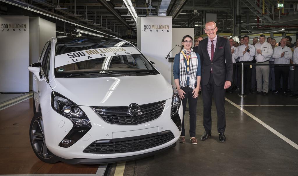 General Motors feiert eine halbe Milliarde Autos. © spothits/ Auto-Medienportal.Net/Opel