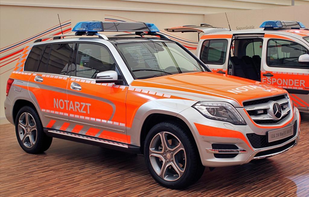 """Für alle Fälle gerüstet: Daimler auf der """"Rettmobil 2015"""". © spothits/Auto-Medienportal.Net/Daimler"""