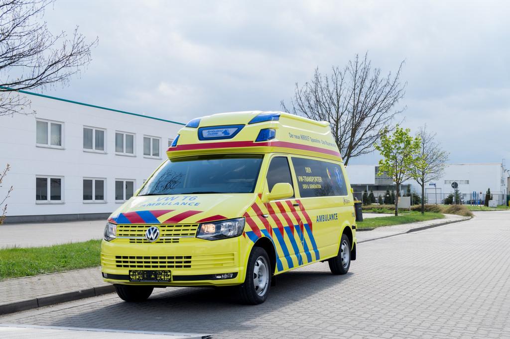 Ambulanz Mobile stellt VW T6 als Krankentransportwagen vor. © spothits/Auto-Medienportal.Net/Ambulanz Mobile