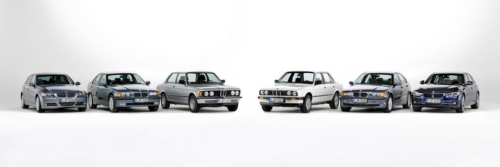 Im Rückspiegel: 40 Jahre BMW 3er. © spothits/Auto-Medienportal.Net/BMW