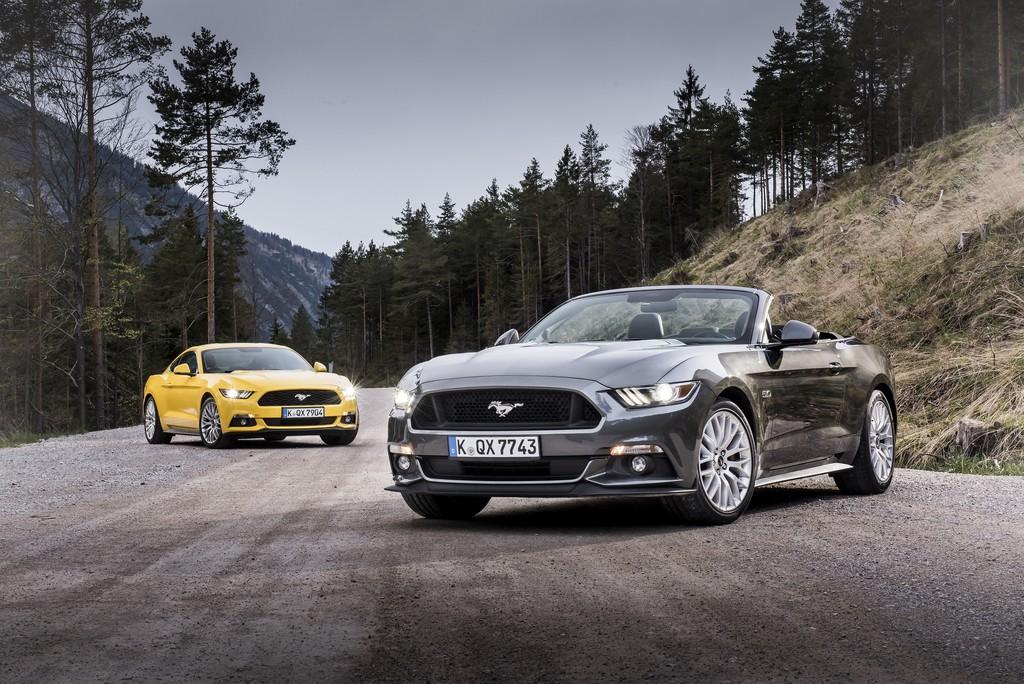 Über 2600 Vorbestellungen für den Ford Mustang. © spothits/Auto-Medienportal.Net/Ford
