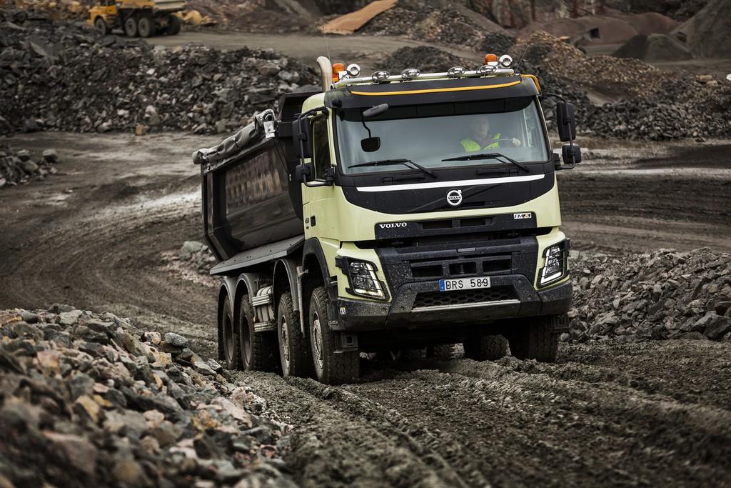 Volvo FMX mit automatischem Allradantrieb. © spothits/Auto-Medienportal.Net/Volvo