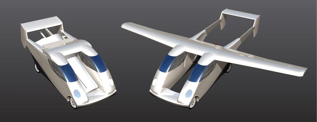 Carplane: Ein Auto soll abheben. © spothits/Auto-Medienportal.Net/Carplane