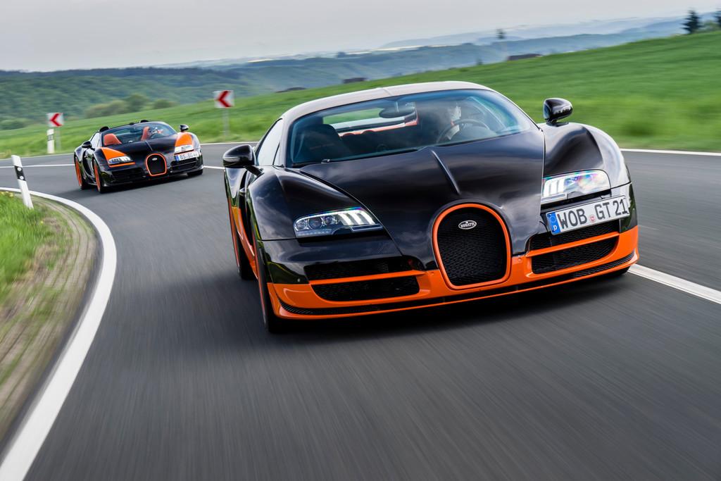 Bugatti Veyron: Schaulaufen auf dem Nürburgring. © spothits/Auto-Medienportal.Net