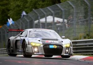 Nürburgring: Audi gewinnt vor BMW. © spothits/Auto-Medienportal.Net/Audi