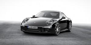 """Zweimal """"Black Edition"""" bei Porsche. © spothits/Auto-Medienportal.Net/Porsche"""