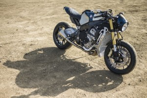 Orlando Blooms Version der BMW S 1000 R. © spothits/Auto-Medienportal.Net/BMW
