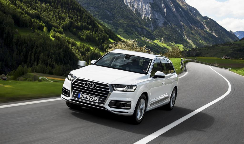 Audi Q7: Agiles SUV mit fortschrittlicher Technik. © spothits/Auto-Medienportal.Net/Audi