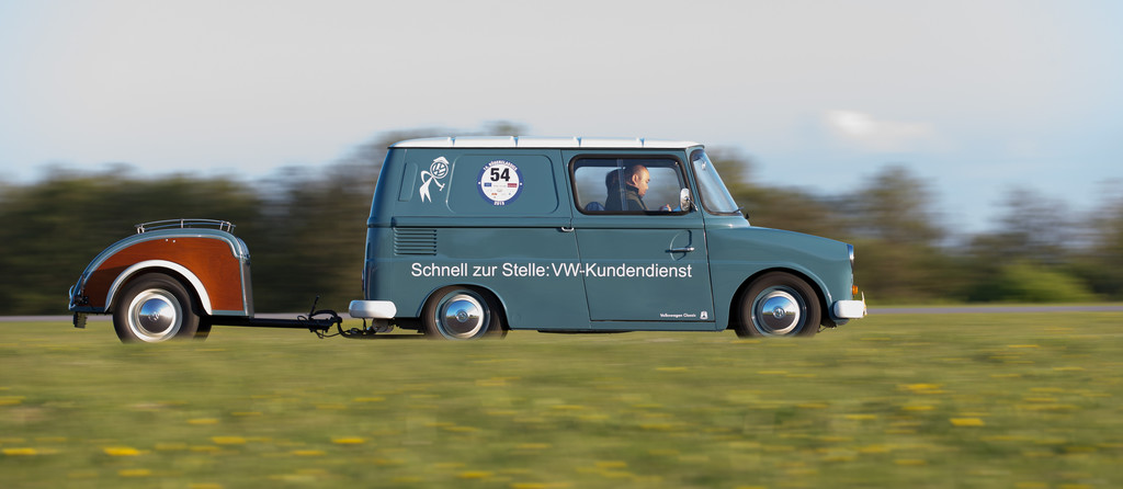 Rügenclassics 2015: Fridolin avancierte zum Publikumsliebling. © spothits/Auto-Medienportal.Net/Volkswagen