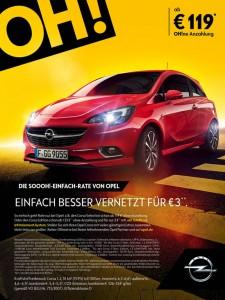 Opel bietet Leasing ohne Anzahlung. © spothits/Auto-Medienportal.Net/Opel