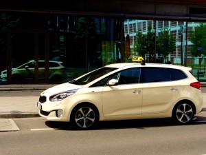 Kia startet Taxi-Programm. © spothits/Auto-Medienportal.Net/Kia