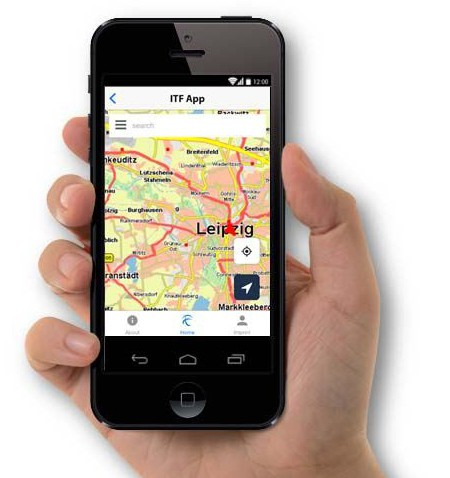 Zum ITF-Forum bekommt Leipzig eine eigene City-App. © spothits/Auto-Medienportal.Net/PTV