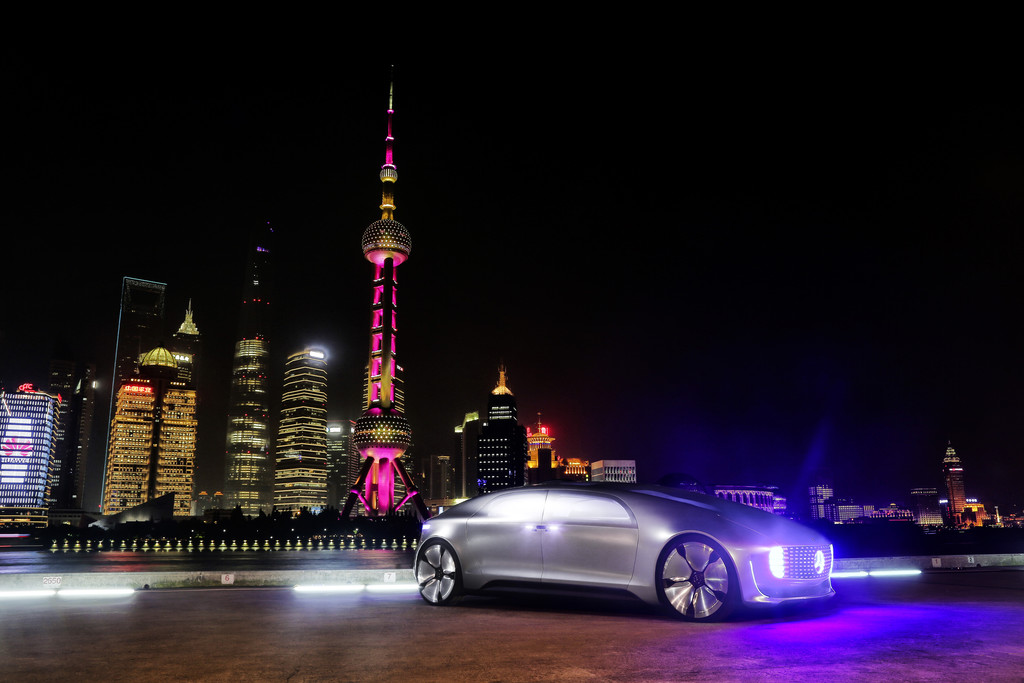 CES Asia 2015: Mercedes-Benz sucht in China mit Baidu. © spothits/Auto-Medienportal.Net/Daimler