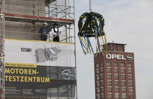 Opel feiert Richtfest für neues Motorenzentrum. © spothits/Auto-Medienportal.Net/Opel