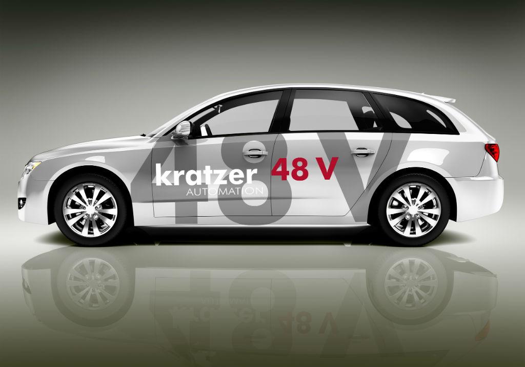 Kratzer Automation präsentiert Prüftechnik für 48-Volt-Bordnetze in Stuttgart. © spothits/Kratzer Automation