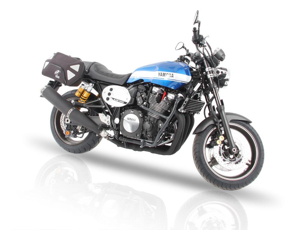 Hepco & Becker mit Gepäcksystem für Yamaha XJR. © spothits/Hepco & Becker