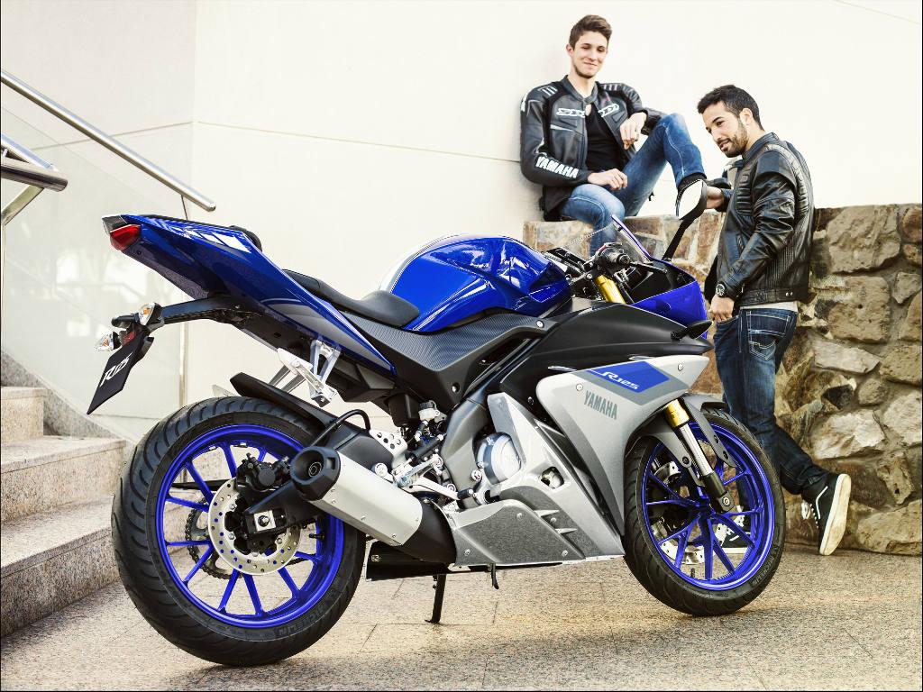 Yamaha gibt 250 Euro als Youngstar Zuschuss zum Führerschein dazu. © spothits/Yamaha