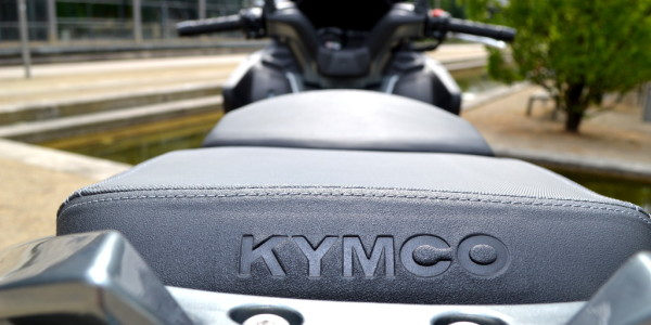 Test Kymco Xciting 400i ABS. © spothits